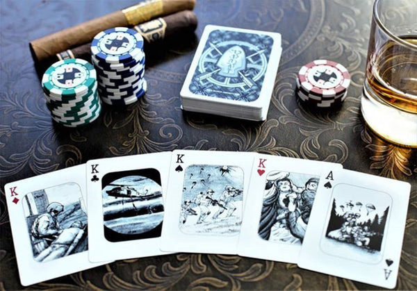 Warrior Deck-Army Playing Cards