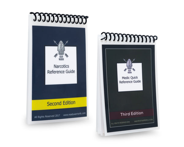 3rd Edition Medic Quick Reference Guide and 2nd Edition Narcotic Guide Pack Combo Pack (TM, C)
