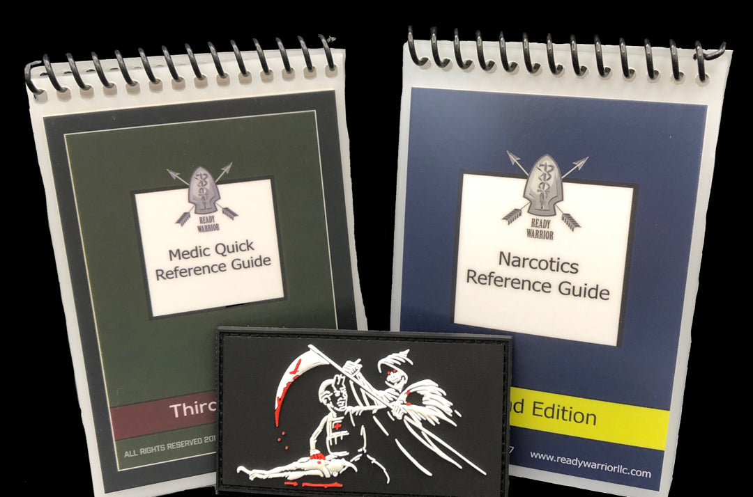 Ready Warrior Medical Reference Guides
