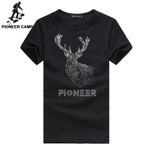 3d elk printed  Pioneer Camp Cotton Men T shirt