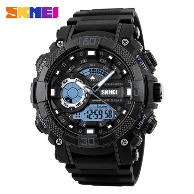 SKMEI 1228 Men Sport Watch Digital Quartz Watches with LED Big Dial