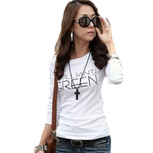 Summer Casual Women T Shirt Long Sleeve O Neck Bottoming Party Clothing