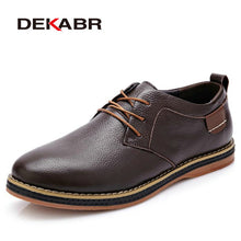 Genuine Leather Oxford Fashion Lace Up Dress Shoes and Work Shoe for Men