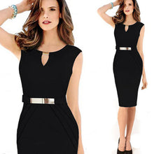 Gown Empire Waist Knee-Length Sequined Casual Bodycon Party Dress