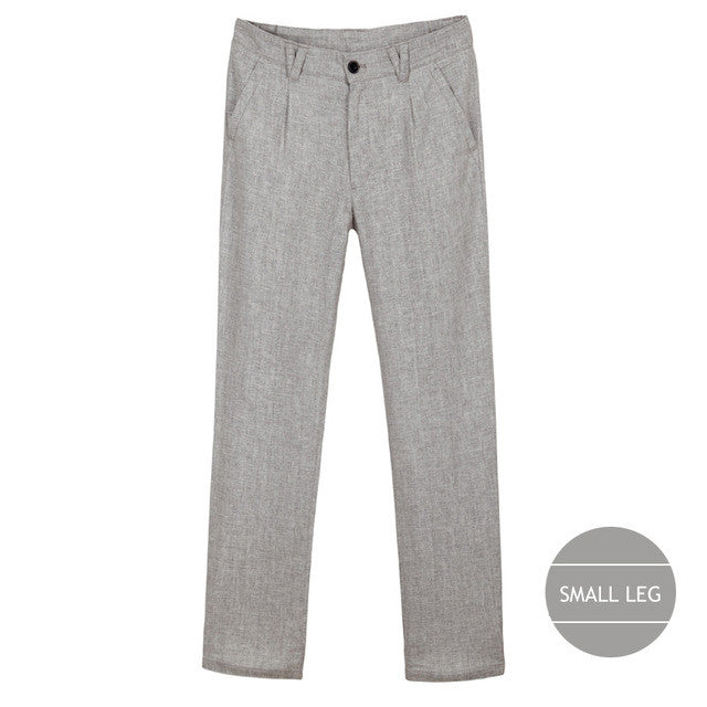 Stylish Thin Linen Loose Casual Business Trousers for Men