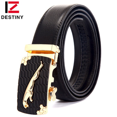 High Quality Metal Automatic Gold Belts For Men
