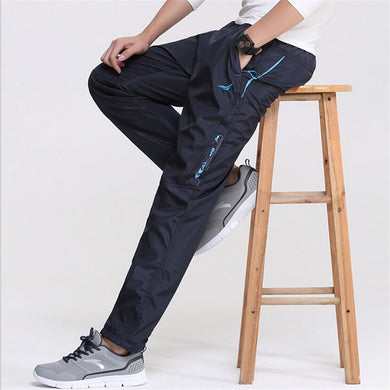 New Spring Waterproof Men's Casual Pants/Sweatpants