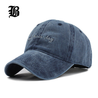 High quality Washed Cotton Adjustable Baseball Cap Unisex