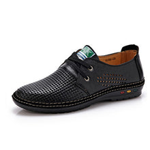 Genuine Leather Men casual shoes
