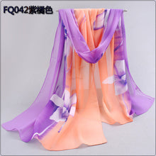 Head scarf women's polyester shawls scarves