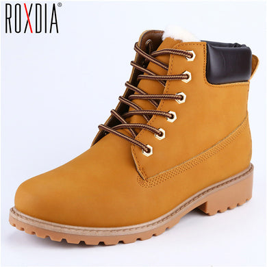 Faux Suede Leather Men Boots