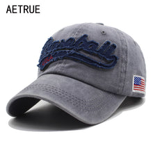 AETRUE Men Baseball Cap Dad Women Snapback Casquette Brand Bone Hats For Men Trucker Hip hop Gorra Fashion Vintage Hat Caps