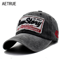 AETRUE Men Snapback Casquette Women Baseball Cap Dad Brand Bone Hats For Men Hip hop Gorra Fashion Embroidered Vintage Hat Caps