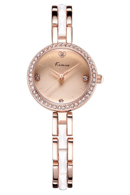 Diamond fashion elegant casual watches ladies bracelet watch