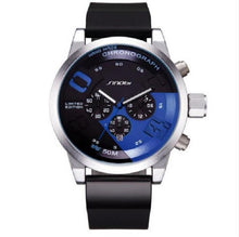 Men Sports Waterproof Chronograph Military Watch Men's Wristwatch