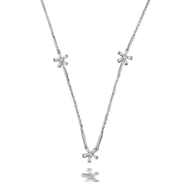 Joy Baguette Diamond Necklace