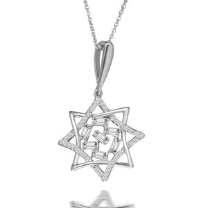 Everlasting Diamond Pendant Necklace