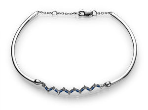 Happiness Bracelet - Diamonds and Sapphires
