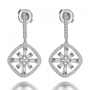 Bright Star Diamond Earrings