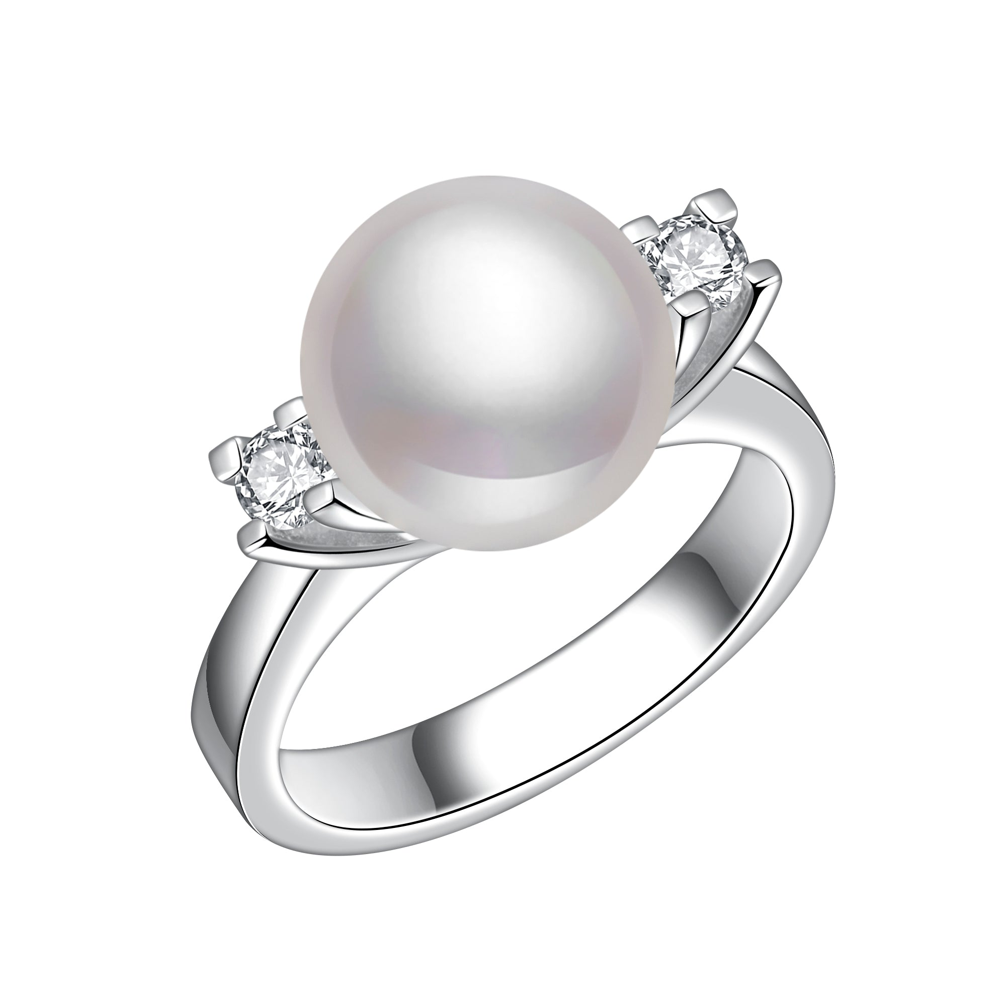 set wedding artemer pearl crown with diamond pave and products engagement rings double ring diamonds a