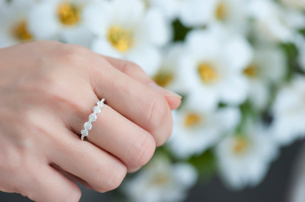 Light Diamond Ring - Diamonds