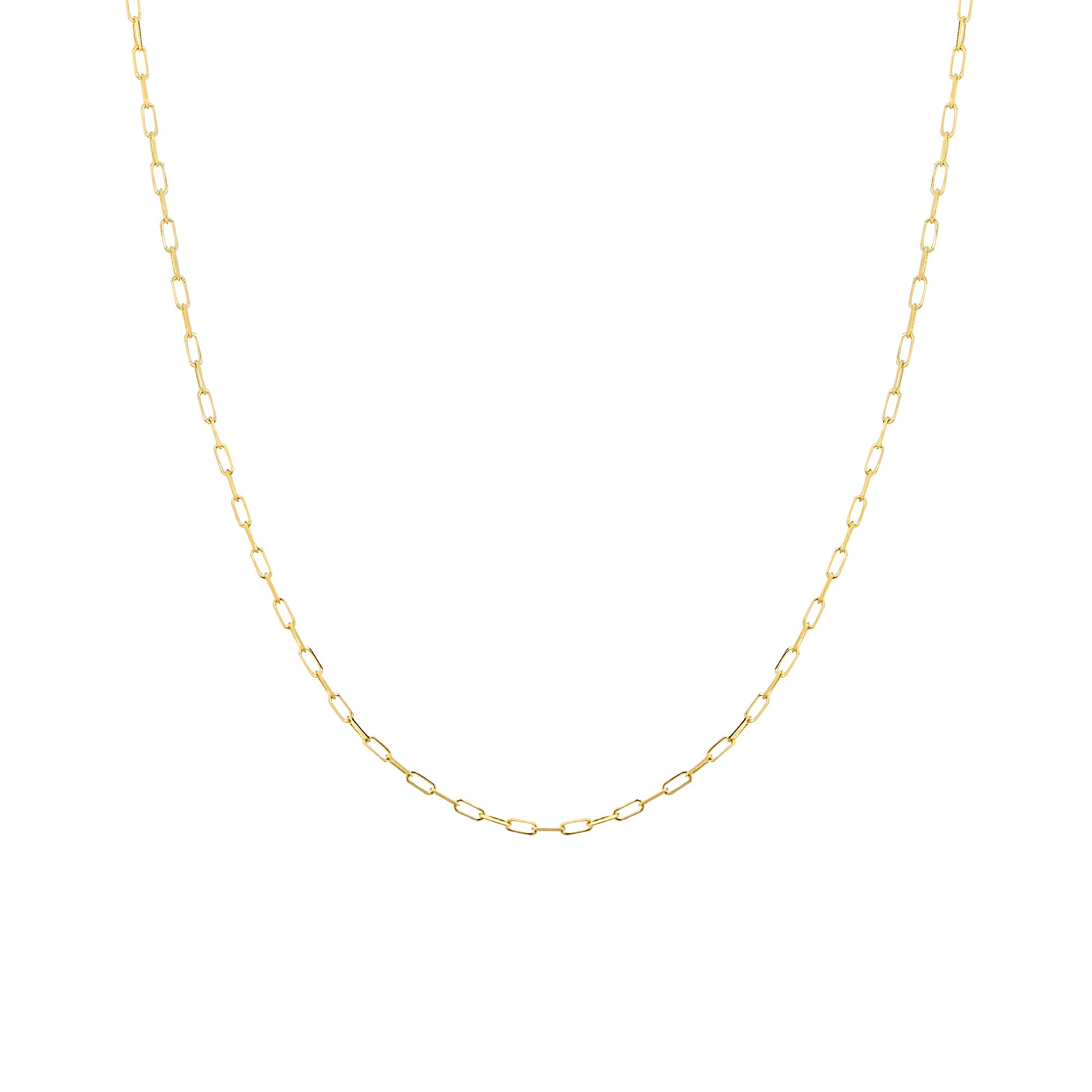 products necklace chains gold chain yellow jewelry twisted rondels row