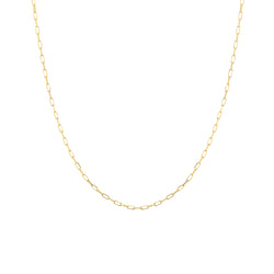 Elemental 14K Gold Modern Chain Necklace