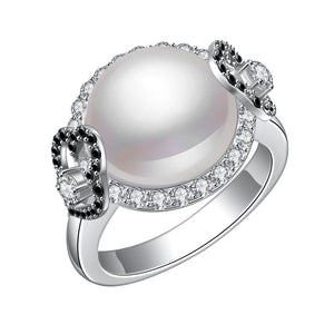 Empower Pearl Diamond Ring