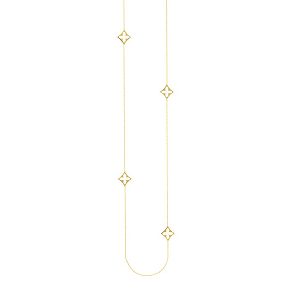 Endless Long Gold Chain Necklace