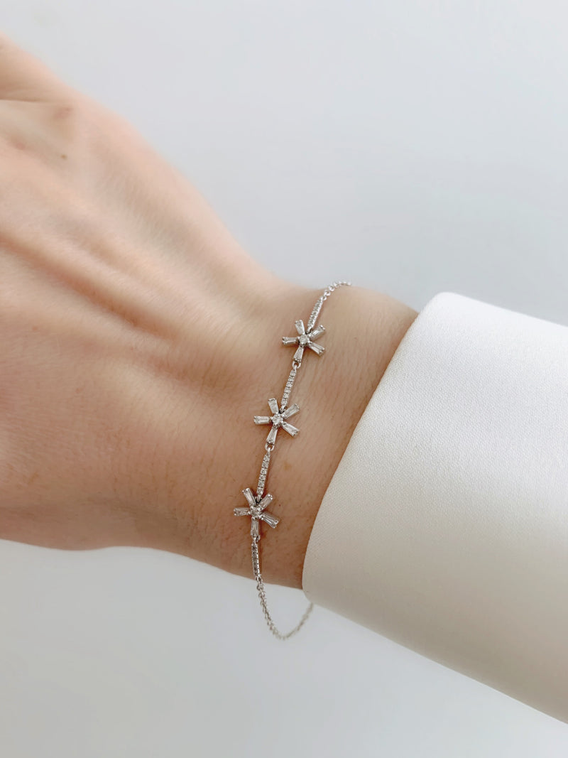 Joy Baguette Diamond Bracelet