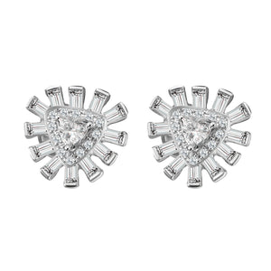 Glamour Stud Diamond Earrings