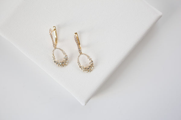 Illuminate Baguette Diamond Earrings