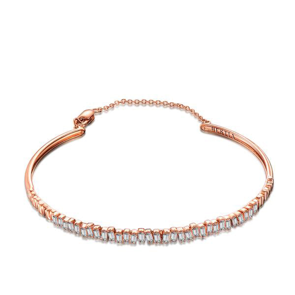 Love Diamond Bracelet - Rose Gold