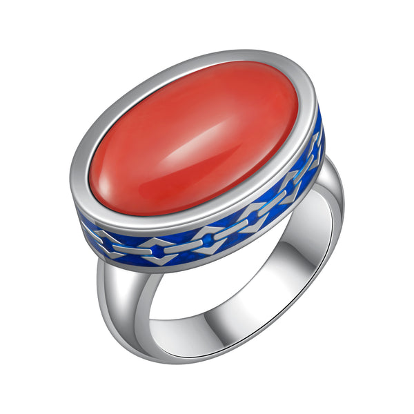 Mystic Coral Ring