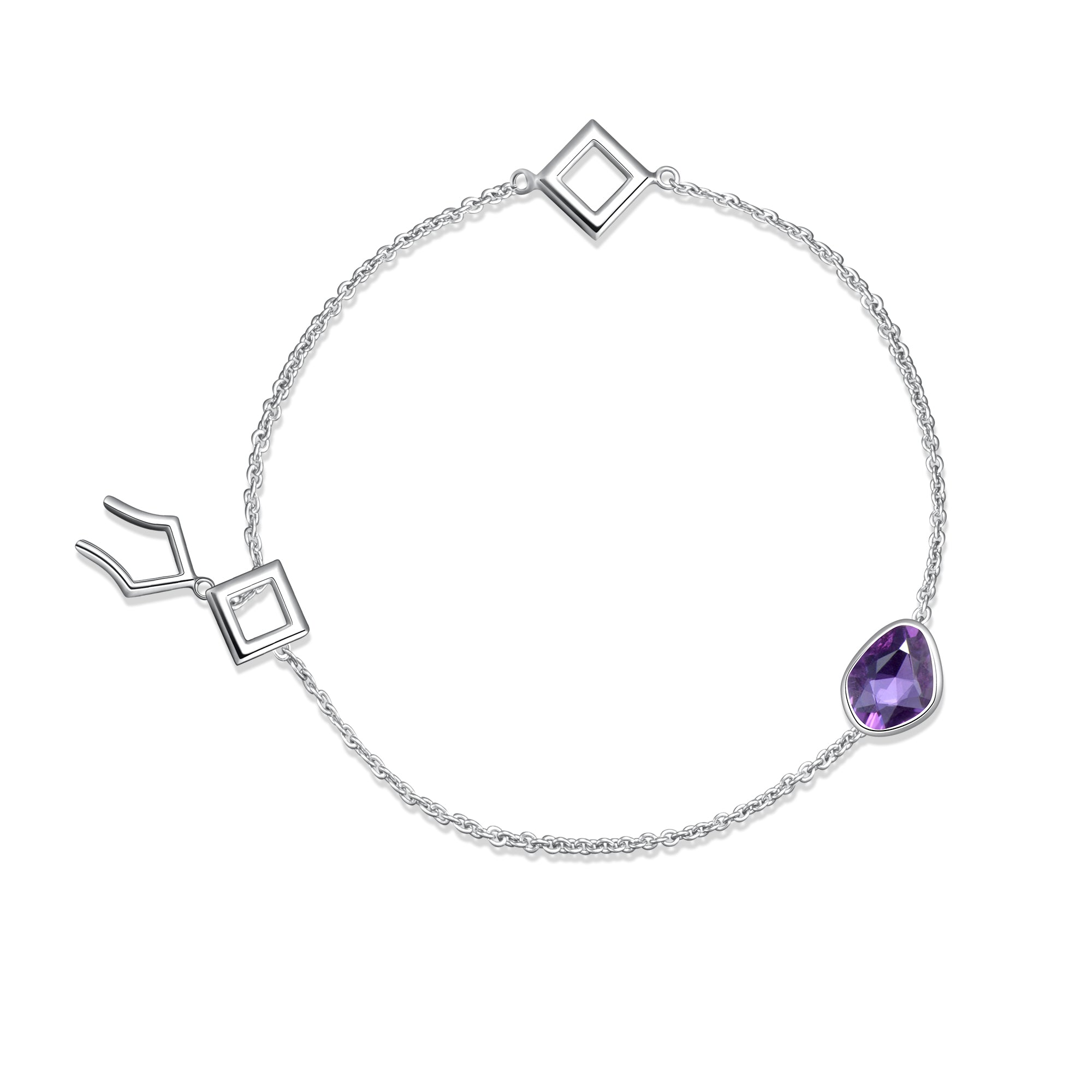 green products sapp jewelry moondance sapphire bracelet petal