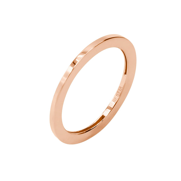 Billie Petite Thin Rose Gold Ring