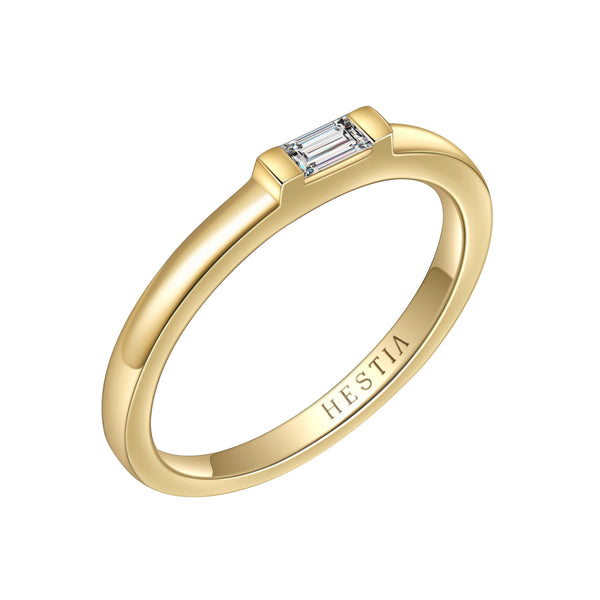 Soul Baguette Diamond Ring
