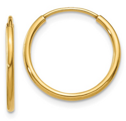 Endless 14K Gold Small Hoop Earrings