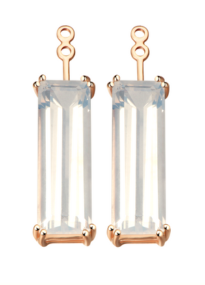 Hestia Sunflower Quartz Gem Bar Earring Extenders