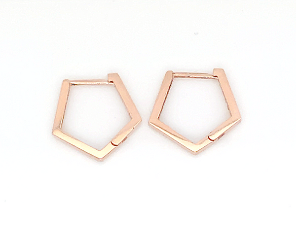 14K Gold Hestia Earrings