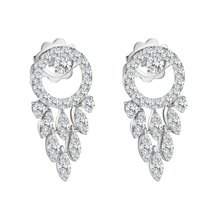 Spettinato Kinetic Diamond Teardrops Earrings