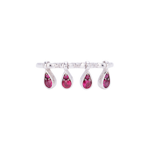Charleston Ring - Rubies