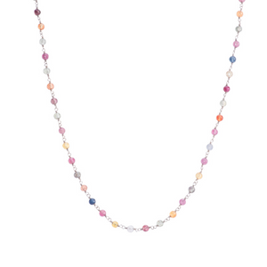 Inspire Necklace - Colorful Sapphire Necklace