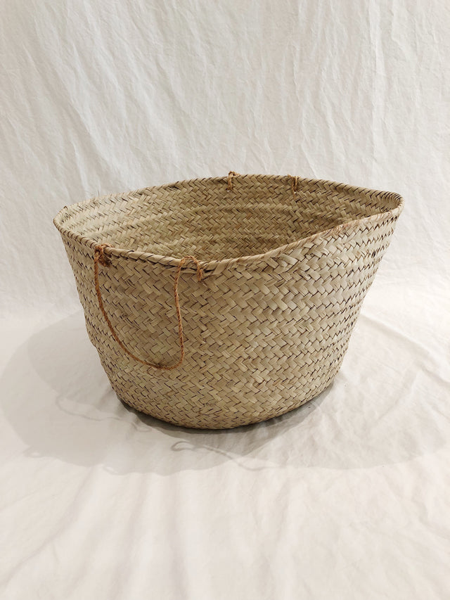 Medium Woven Market Basket
