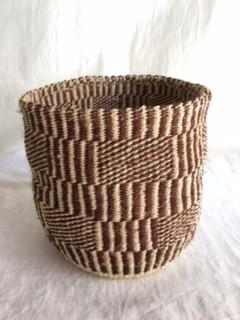 Small Planter Basket - Brown/Natural