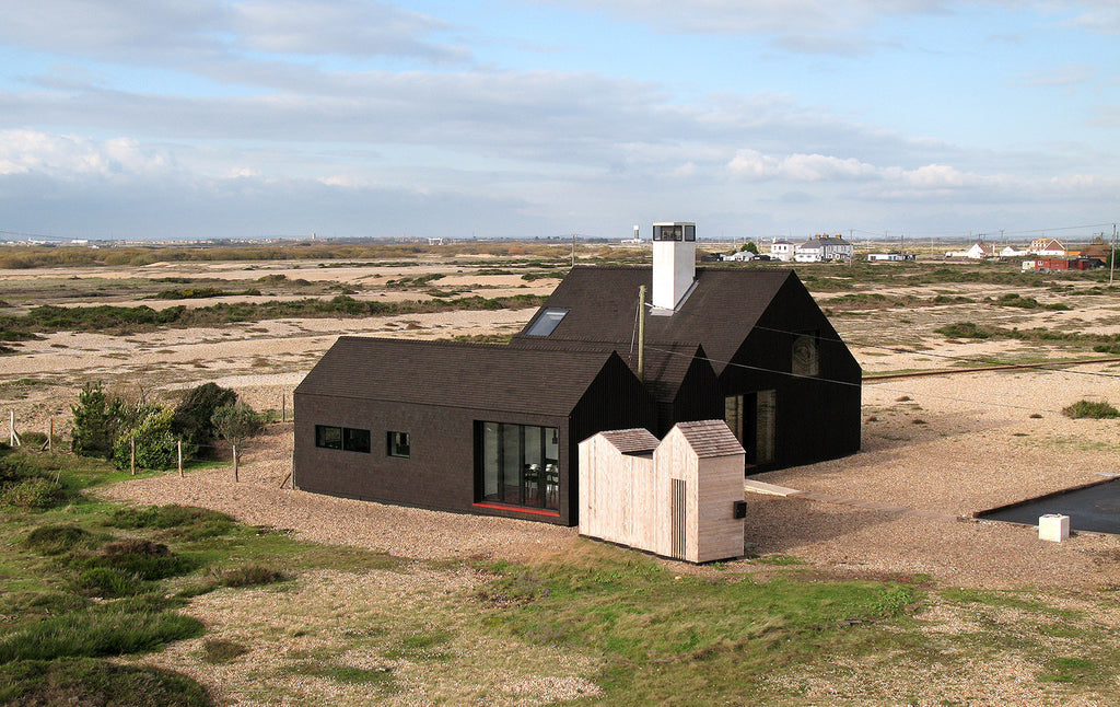 The Shingle House on the shingle beach, Dungeness