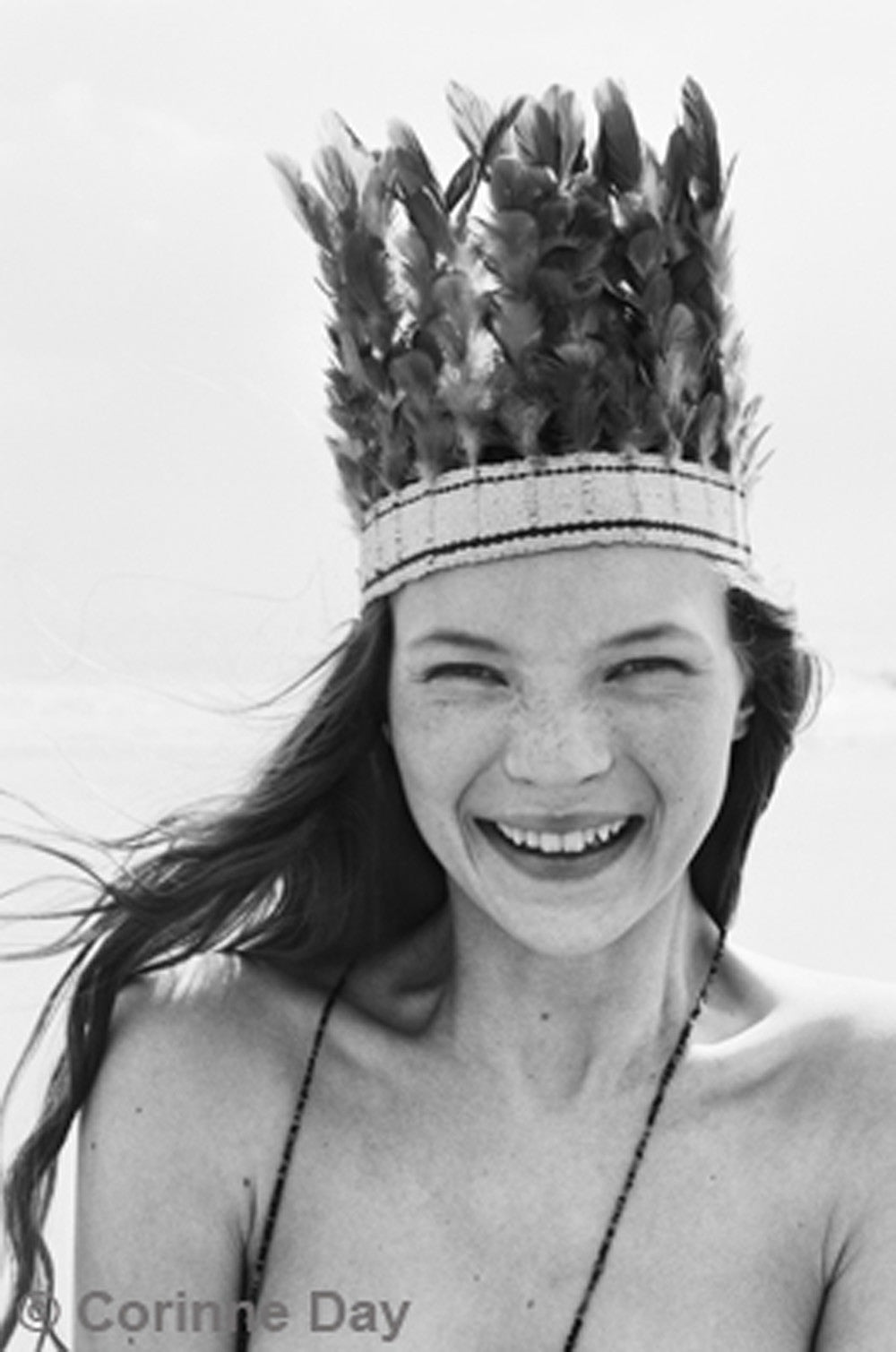 Iconic Kate Moss shoot on Camber Sands