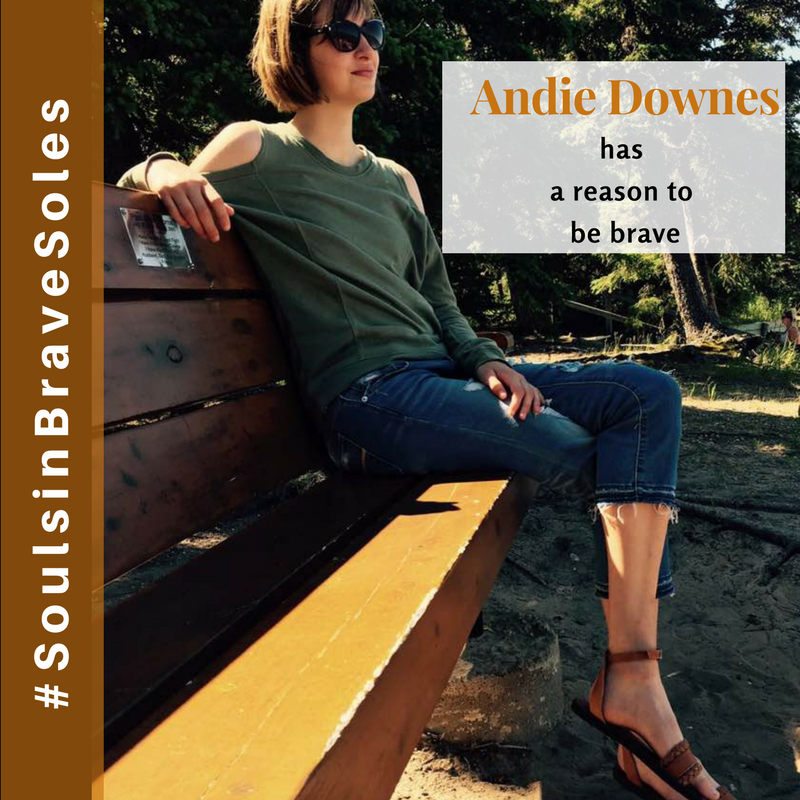 Meet Andie Downes, One of Our Inspiring #SoulsInBraveSoles