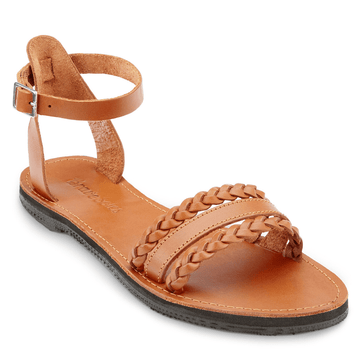 Pretty leather sandal