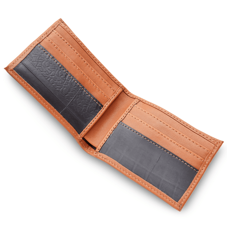 Michel bifold mens leather wallet
